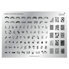Konad Collection Image Plate 01