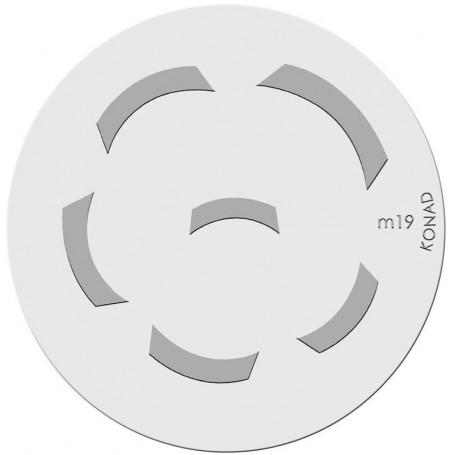 Konad Placa M19