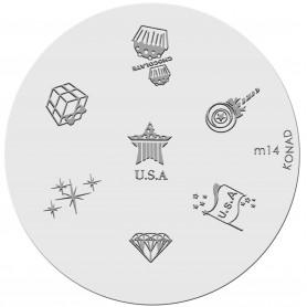 Konad Placa M14
