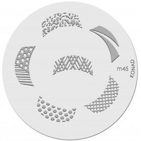 Konad Placa M45