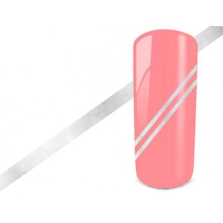 Nail Art Stripes - Hologram Silver