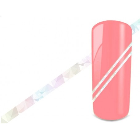 Nail Art Stripes - Hologram White