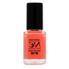EN Nail Polish Nº 08 - Light Orange - 12 ml