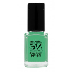 EN Nail Polish Nº 14 - Green Field - 12 ml