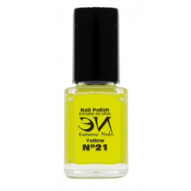 EN Nail Polish Nº 21 - Yellow - 12 ml