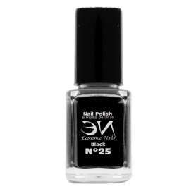 EN Nail Polish Nº 25 - Black - 12 ml
