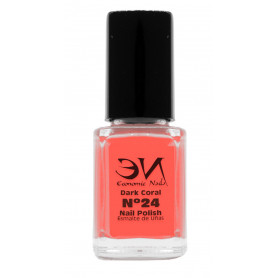 EN Nail Polish Nº 24 - Dark Coral - 12 ml