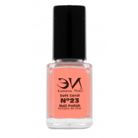 EN Nail Polish Nº 23 - Soft Coral - 12 ml