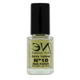 EN Nail Polish Nº 10 - Dirty Yellow - 12 ml