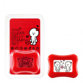 Konad Gelly Stamp Set Rojo