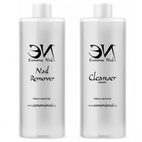 Pack: Cleanser 1000ml  + Remover 1000ml