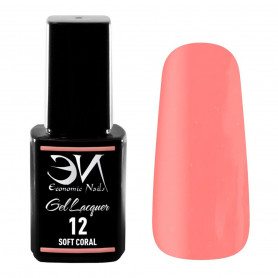 EN Gel Lacquer Nº 12 - Soft Coral - 12ml