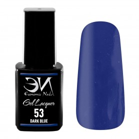 EN Gel Lacquer Nº 53 - Dark Blue - 12ml