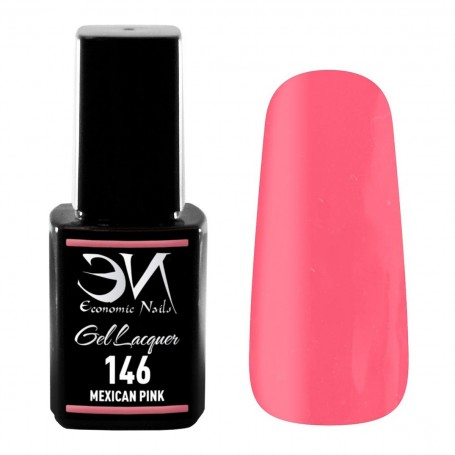 EN Gel Lacquer Nº 146 - Mexican Pink - 12ml