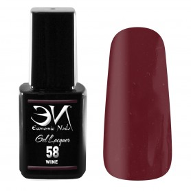 EN Gel Lacquer Nº 58 - Wine - 12ml