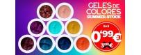 Geles de Colores - Venta Flash